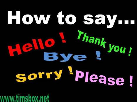 TIMSBOX_jeux anglais enfant-misc-HOW TO SAY | Teaching English ESL - Ressources anglais -timsbox | Scoop.it