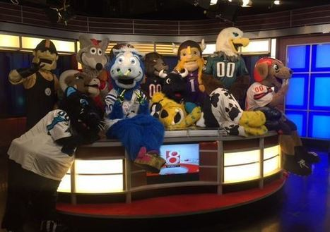 Blue awarded NFL's 'Mascot of the Year' | Mascots | Scoop.it