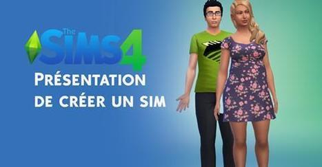 Les Sims 4 - Créer un Sim << SimCookie | jjArcenCiel | Scoop.it