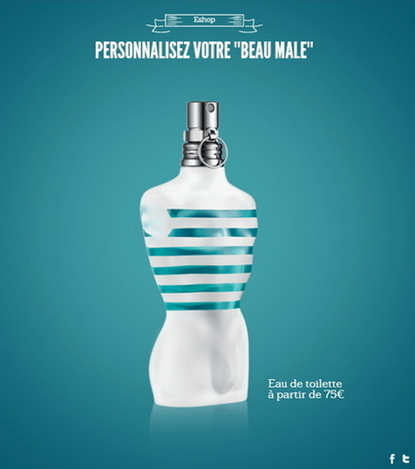 Jean Paul Gaultier lance sa Hotline, une expérience digitale sensuelle et innovante - Web and Luxe - Blog Luxe Marketing | Luxe 2.0 | Scoop.it