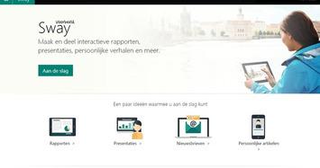 Edu-Curator: 5 Uitlegfilmpjes: Presentaties maken met het gratis 'Microsoft Sway' | Edu-Curator | Scoop.it