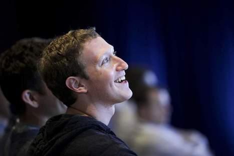 Facebook : la rémunération de Mark Zuckerberg réduite de 67% en ... - Les Échos | marketing | Scoop.it