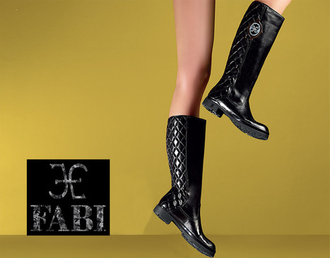Fabi Shoes & Bags | Matelassé leather bag and boots | Le Marche & Fashion | Scoop.it