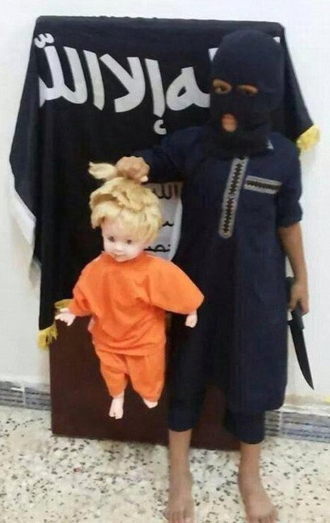 ISIS Forces Child Recruit to Beat 10 Yr-Old Brother – Behead Dolls | Terrorists | Scoop.it