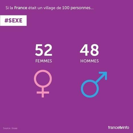 A quoi ressemblerait la France si elle était un village de 100 personnes ? | Tendances et Société | Scoop.it