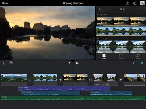 Ten of the best video editing apps for iPhone, iPad, Android and Windows 8 | Stuff | teaching with technology | Scoop.it
