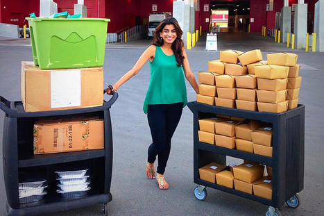 Surplus food for the homeless is just an app away - CNET | Radio Show Contents | Scoop.it