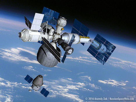 The Russian Plan To Spin Off a New Space Station From the ISS | More Commercial Space News | Scoop.it