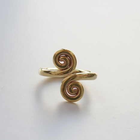 fair trade Cambodia. Recycled brass bomb shell spiral pattern ring, ethically handcrafted by disadvantaged home based women and men workers   Recycled Bomb Casings & Bullet Shell Jewellery   Scoop.it