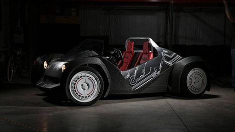 Strati, el primer coche eléctrico del mundo impreso en 3D / EcoInventos.com | Creatividad en la Escuela | Scoop.it