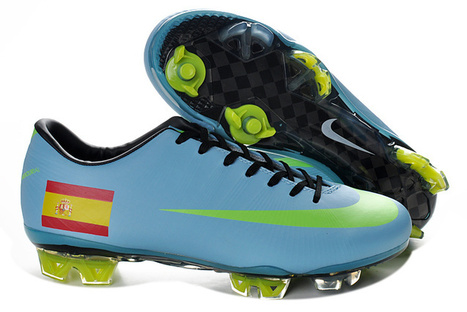 Nike Mercurial Vapor Superfly III FG Spain the Road Colur Blue Green for Sale Buy Now   SHARES   Scoop.it