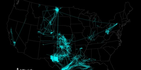 Timelapse Map Shows Oil And Gas Rigs Moving Across 'Saudi America' As Stunning Drilling Boom Continues | The Political Side of Things | Scoop.it