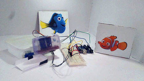 Automatic Fish Food Feeder using Arduino Uno | Open Source Hardware News | Scoop.it
