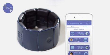 Unitact, le bracelet connecté vibrant pour les personnes sourdes | Patient Hub | Scoop.it