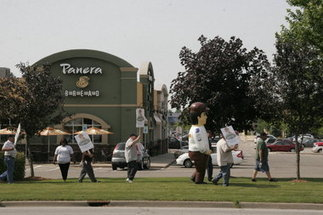 Panera Bread bakers, union allies protest delay over National Labor Relations ... - MLive.com | Labor and Employee Relations | Scoop.it