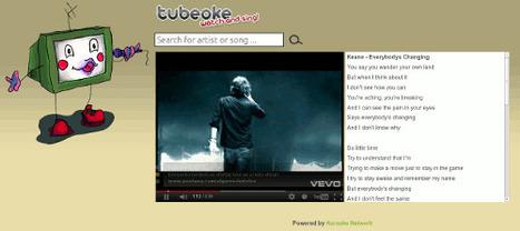 Tubeoke - karoke on line | EDUDIARI 2.0 DE jluisbloc | Scoop.it