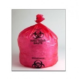 The Red Infectious Waste Liner Bag—it's ready to house the hazard! - Wholesale Packaging Materials, Shipping Envelopes, Packing Tape and More.. | Packaging Supplies | Scoop.it