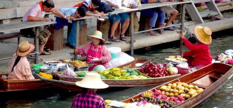 Les Marchés de Bangkok | Voyage Thaïlande-Voyage au pays des merveilles | Scoop.it