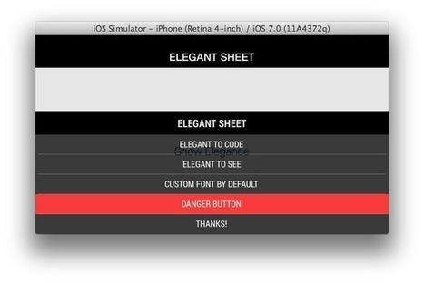 IAElegantSheet | iOS & macOS development | Scoop.it