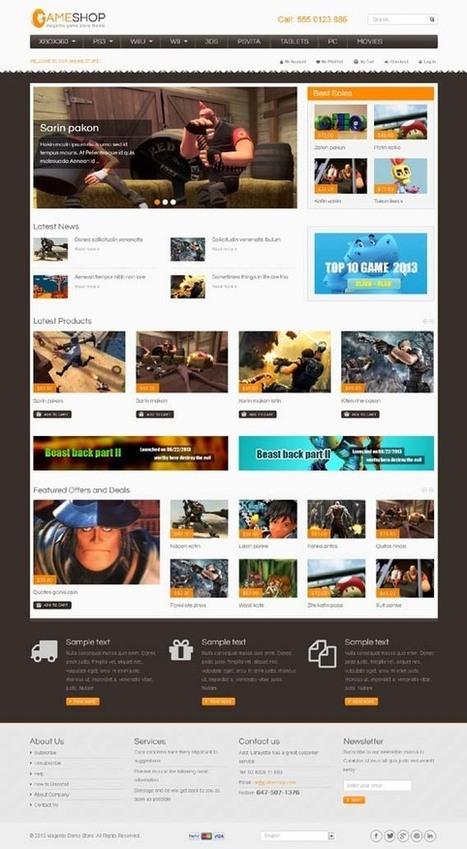 SM GameShop, Magento Playful Game Arcade Theme | Premium Download | Premium Magento Themes | Scoop.it