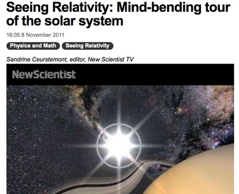 New Scientist TV: Seeing Relativity archive | Video for Learning | Scoop.it
