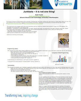 Junkbots! -session plans, activities | Problem Solving in HE | Scoop.it