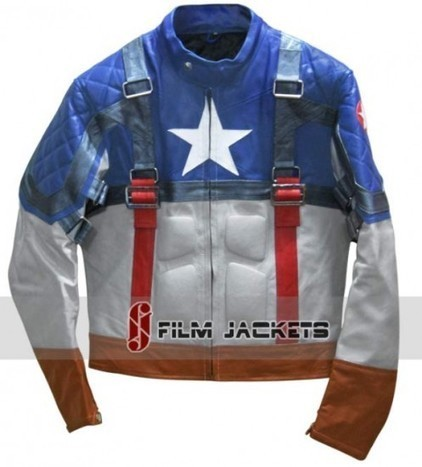 Captain America The First Avenger Jacket | Chris Evans Leather Jacket | House of outfits | Scoop.it