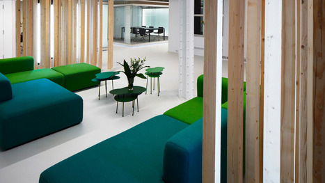 "An Open-Plan Office With A ""Monastery"" For Quiet Reflection 