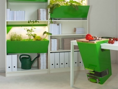 Parasite Farm: Brilliant Indoor Garden and Compost System Adapts to Any Kitchen | Vertical Farm - Food Factory | Scoop.it