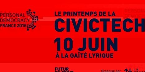 [Futur en Seine]Personal Democracy & la Netscouade: CivicTech France 2016 | actions de concertation citoyenne | Scoop.it