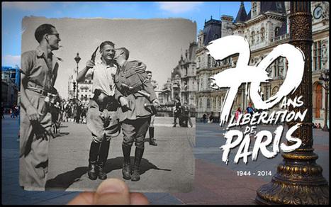 50 photos de la Libération de Paris se fondent dans le présent | Remue-méninges FLE | Scoop.it