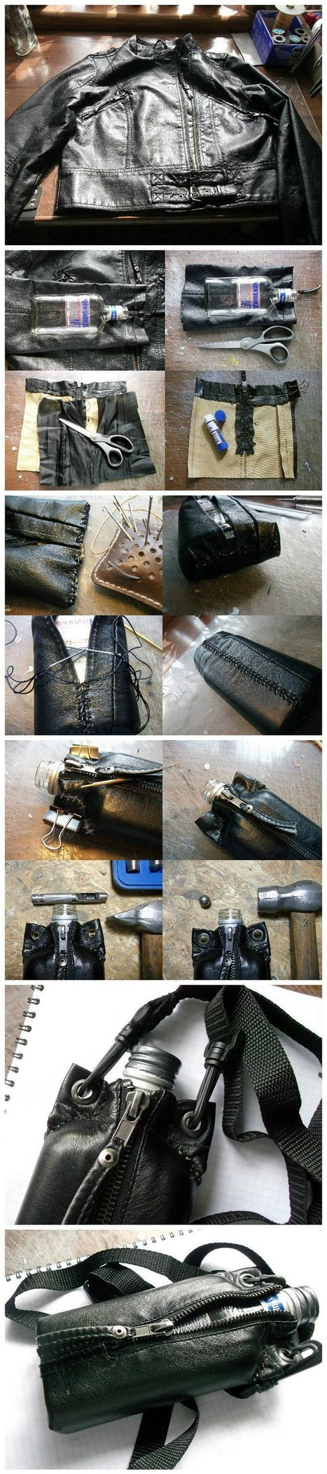 Making Flasks From Used Glass Bottles (How To)   1001 Recycling Ideas !   Scoop.it
