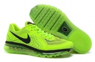 Cheap Nike Air Max 2014 Fluorescent Green Black Men Shoes For Sale Online - SportsYTB.Com | Cheap Nike Air Jordan Shoes,Cheap Nike Sneakers | Scoop.it