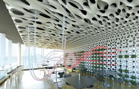Bio-Mechanical Pod System Produces Fresh Air - eVolo | Architecture Magazine | Vertical Farm - Food Factory | Scoop.it