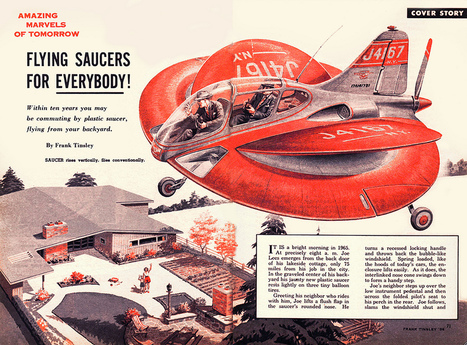 'Flying Saucers for Everybody!', 1957 | A Cultural History of Advertising | Scoop.it