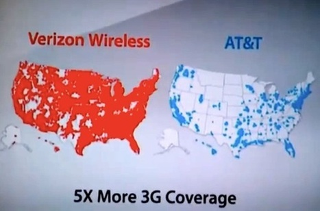 Verizon Cell phone coverage in the US   Special Purpose Maps   Scoop.it