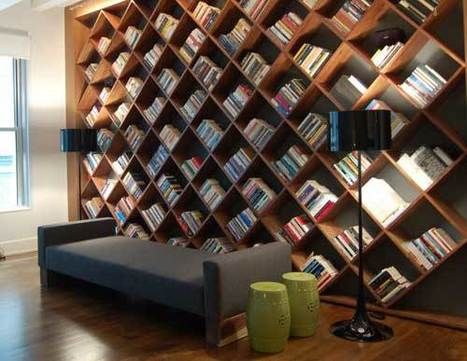 20 Cool Home Library Design Ideas | Shelterness | Weird and wonderful | Scoop.it