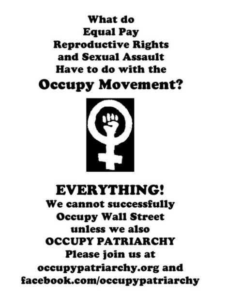 Confronting Misogyny At Occupy Montreal » Occupy Patriarchy | Patriarchy & Masculinity | Scoop.it