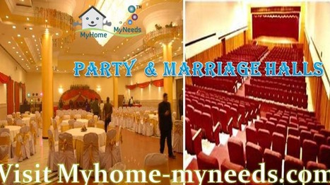 Marriage |Party Halls in Chennai - Myhome-myneeds.com | MyHome-MyNeeds.com - Home Needs in India-Classified Ads free | Scoop.it