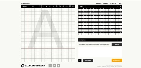 10 Best Free Online Tools for Designing Fonts | xposing world of Photography & Design | Scoop.it