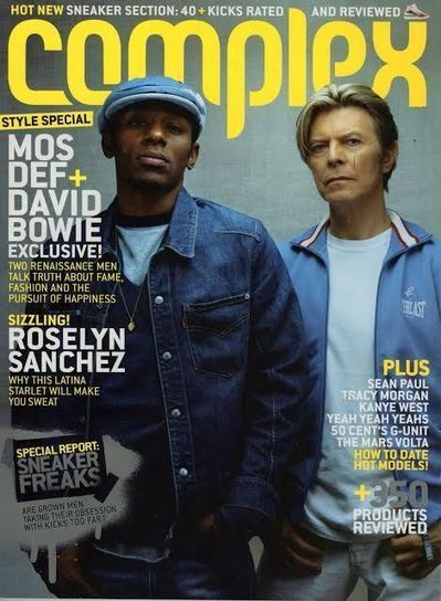 David Bowie & Mos Def: The Style Council (2003 Cover Story) | B-B-B-Bowie | Scoop.it
