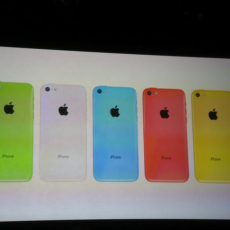 Apple Unveils Low-Cost iPhone 5C in 5 Colors   TrendZ   Scoop.it