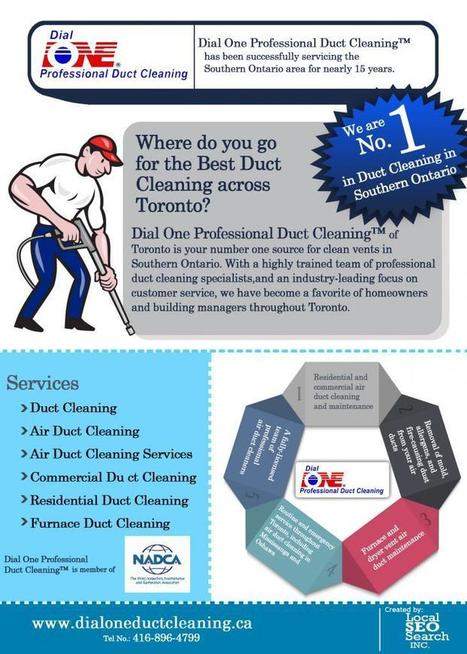 Whitby Dial One Duct Cleaning Infographics | Duct Cleaning | Scoop.it
