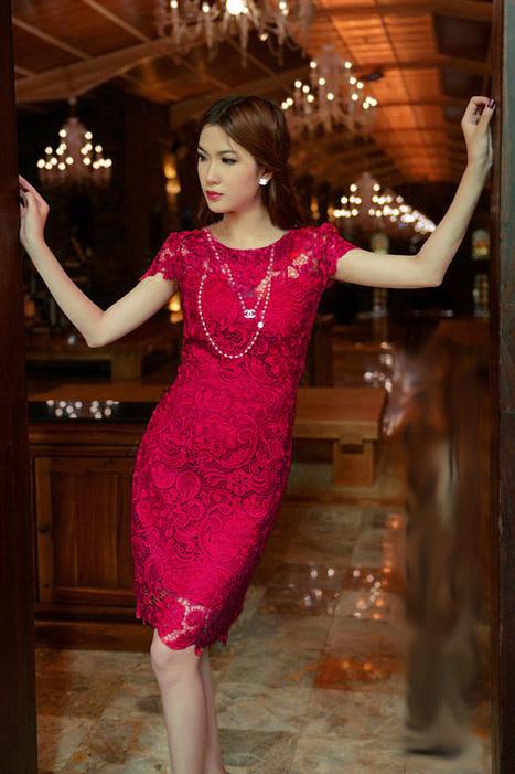 Váy công sở đẹp phối ren sang trọng | Trịnh quốc mạnh | Scoop.it