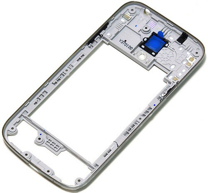 Middle Frame Faceplate Housing Cover For Samsung Galaxy S4 Mini i9190 White | samsung galaxy s4 accessories | Scoop.it