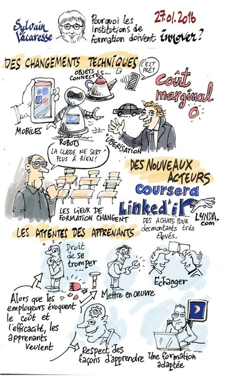 Pourquoi les institutions de formation doivent innover | eLearning related topics | Scoop.it