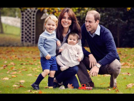 Kensington Palace Releases Family Photo Of The Duke & Duchess Of Cambridge! | Celebrity Fashion Trends | Scoop.it