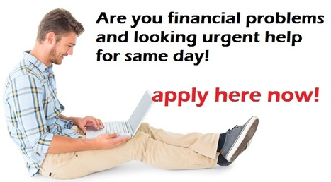 You Can Get Financial Help for Your Urgent Needs | One Hour Loans | Scoop.it