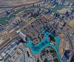 "See Dubai from the world's tallest building in this stunning interactive panorama | L'impresa ""mobile"" 
