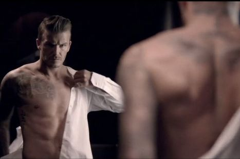 Watch David Beckham strip off in advertising campaign for his new fragrance - Mirror.co.uk | Sex Marketing | Scoop.it